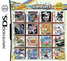 Backyard Baseball Ds 64gb 489 In 1 Video Multi Games Card For Nintendo 3ds Ds Dsi
