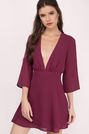 burgundy dress for wedding guest wedding guest dresses fall winter summer tobi us