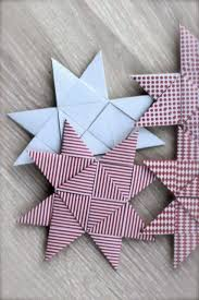 photo tutorial woven paper ornament flat form of german