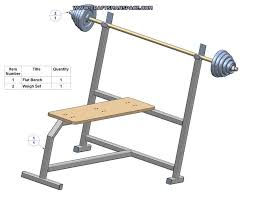 Home Bench Press Workout Olympic Flat Bench Press Plans