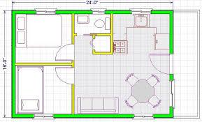sle house plans modern open floor plans 16x24 modern free house plans images