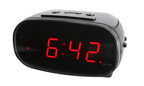 alarm clock dropped inside wall still going daily after 13