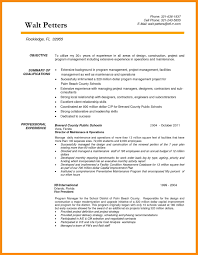 project manager resume templates bunch ideas of resume templates for construction project manager