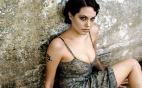 photo collection angelina jolie tattoo wallpapers