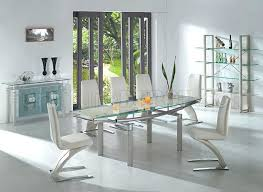 glass dining table with leaf dining room tables cool ikea dining