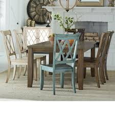 standard furniture vintage table and 6 chair set wayside