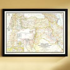 Google Classic Maps 1946 Bible Lands And The Cradle Of Western Civilization Map