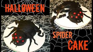 Halloween Spider Cakes by How To Make A Halloween Spider Cake Youtube
