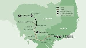 Mekong River Map River Cruises Archives Savvy Sailor