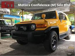Pj Toyota Toyota Fj Cruiser 2012 4 0 In Selangor Automatic Suv Yellow For Rm