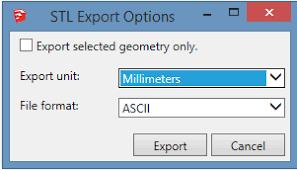 sketchup stl extension part 1 model export daniel tal
