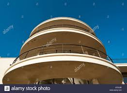 art deco building on seafront stock photos u0026 art deco building on