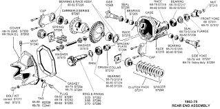 corvette supply 1963 79 rear end assembly diagram view chicago corvette supply