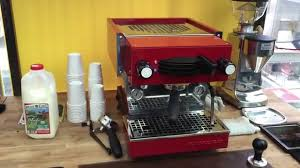 first look la marzocco linea mini home espresso machine youtube