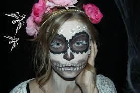 Sugar Skull Halloween Makeup Sugar Skull Halloween Makeup Tutorial 4 Youtube