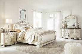 Sleigh Bed Set Cassimore Sleigh Bedroom Set The Furniture Mart
