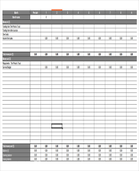Business Plan Budget Template Excel Excel Business Budget Templates Free Premium Templates