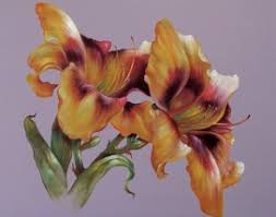 Day Lillies Dazzling Day Lilies Painting Pack U2022 Gary Jenkins