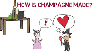 champagne cartoon how is champagne made different styles and classifications youtube