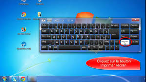 ordinateur de bureau avec windows 7 comment faire une capture d écran sur windows