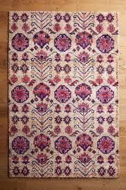beige floral rug
