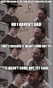 Meme Carl - walking dead carl meme generator image memes at relatably com