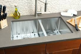 kitchen faucet placement 60 40 drop in kitchen sinks bowl steel sink stainless