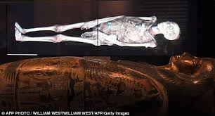 The hidden secrets of Egyptian mummies up to       years old have been virtually unwrapped and Daily Mail