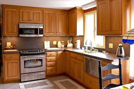 Microwave Inside Cabinet Kitchen Cabinet Design Amazing Oak Cabinet In Kitchen Mahogany