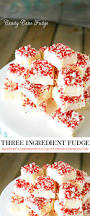 three ingredient candy cane fudge recipe the 36th avenue