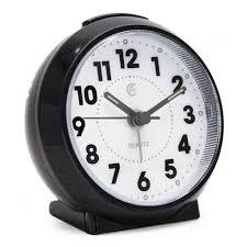 desk alarm clock jcc macaron color glossy handheld size non ticking quartz alarm