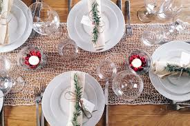 table setting pictures simple tips for setting a festive holiday table whole foods market