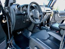 jeep custom console 2017 jeep wrangler unlimited 4 door custom lifted 4x4 with hardtop
