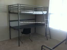 Ikea Bunk Bed With Desk Uk by Ikea Bunk Beds Easy Full Height Diy Bunk Bed Stairs Ikea Minnen