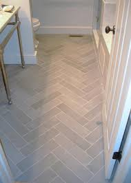 bathroom tile flooring ideas bathroom flooring light tile in herringbone pattern home