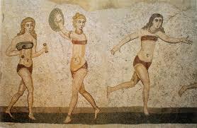 Mosaique Del Sur File Mosaïque Des Bikinis Piazza Armerina Jpg Wikimedia Commons