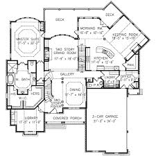european style house plan 5 beds 4 5 baths 4496 sq ft plan 54