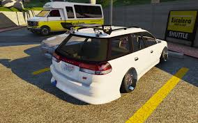 subaru legacy wagon bg5 replace template gta5 mods com
