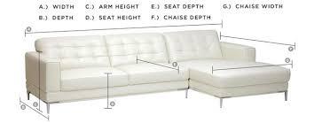 sofa seat depth measurement sofa buying guide