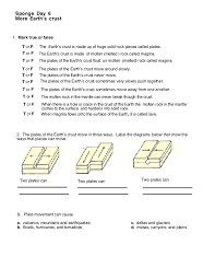 How The Earth Was Made Worksheet Answers Destruct Forces Worksheet