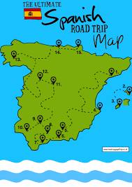 Spain On The Map by The Ultimate Map Of 15 Beautiful Places You Have To See In Spain