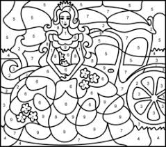 paint number coloring pages coloring