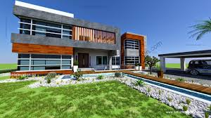 2 kanal modern contemporary house design 2015 3d front elevation