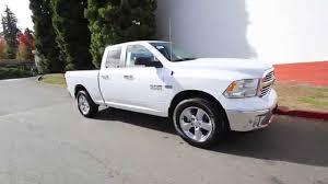 white dodge truck 2016 dodge ram 1500 big horn white gs117949 redmond