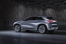 lexus qx 300 infiniti qx sport concept inspires successor to qx70 luxury crossover