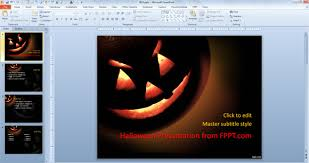 premium u0026 free halloween powerpoint templates for 2013