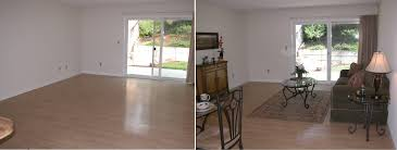 Before And After Staging Staging Real Estate Interior Design Color U0026 Staging How To