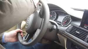 audi a6 esp 2014 audi a6 3 0 tdi diesel quattro in dynamic mode esp
