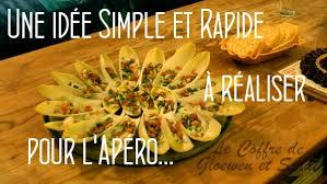 recette de cuisine facile et rapide et pas cher apero dinatoire recettes faciles avec des endives le coffre de