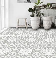 patterned tile bathroom patterned peel stick floor tiles design sponge